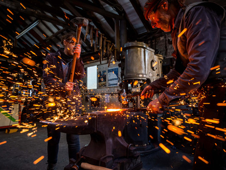 Local Northumberland blacksmith artists sign up to campaign