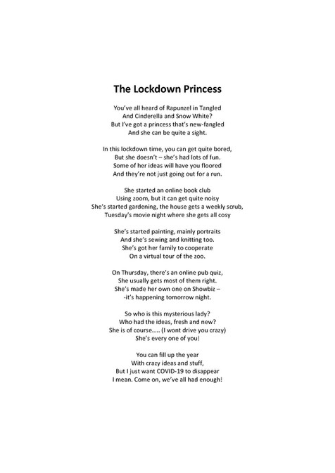 Ella Shiell - The Lockdown Princ