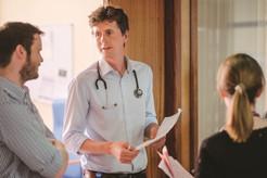 Doctors on ward