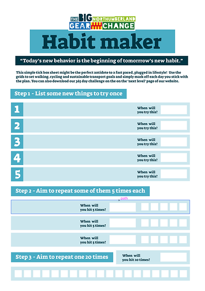 Habit maker