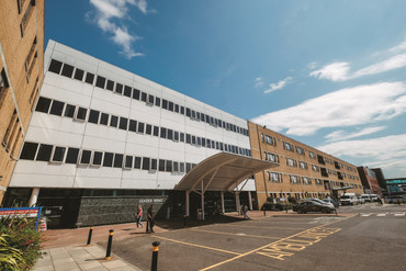 Leazes Wing at the RVI