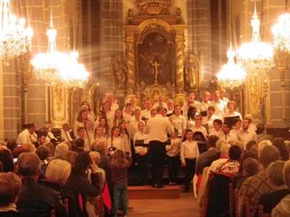 Deux chorales réunies pour le plaisir du chant
