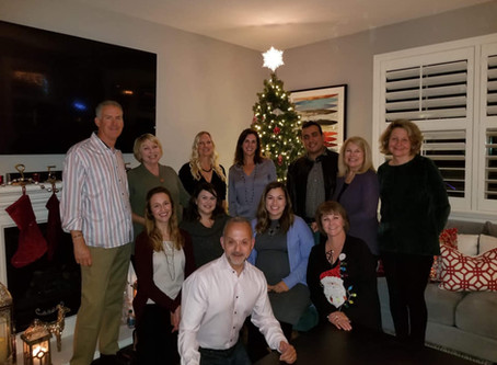 Sagecrest celebrates our Second Annual Team Holiday Party!