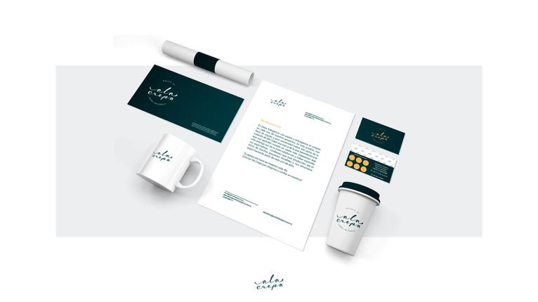 Diseño de papeleria y accesorios corporativos