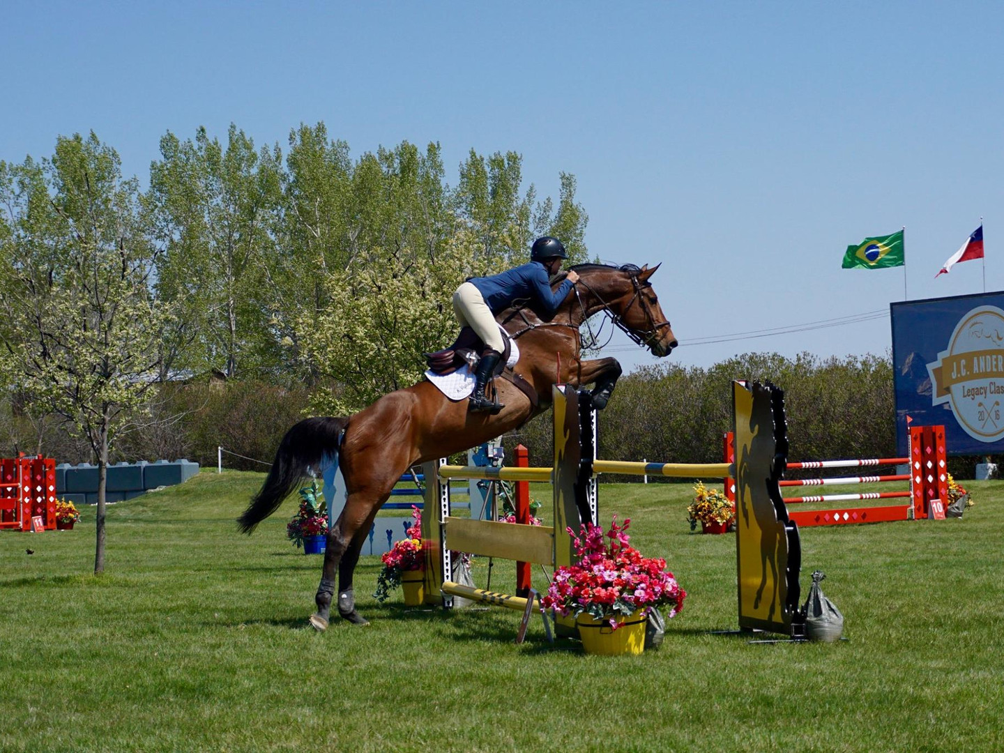 Katherine and Corianna at RMSJ - Eperon Equestrian