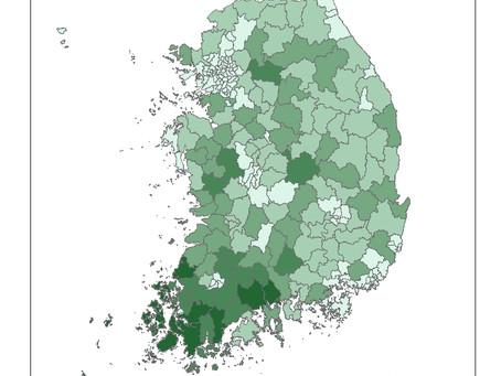 2.4 친환경농업인증면적(2015)