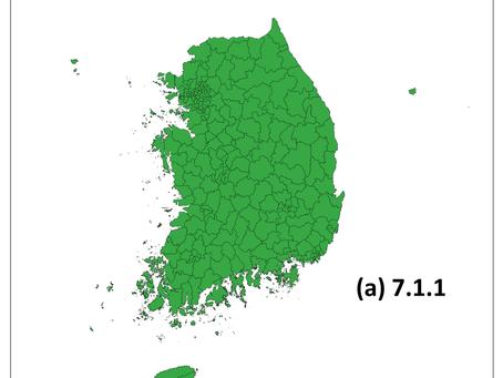 7.1.1 전기이용 인구비율(2015)