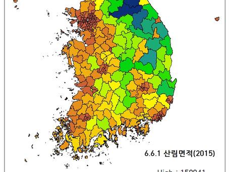 6.6.1 산림면적(2015)