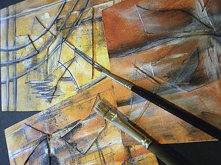 Dipinti e pennelli