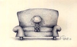 Red couch series