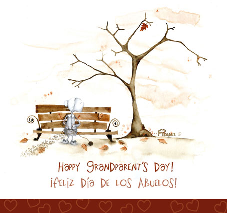 Grandparent's Day greeting card