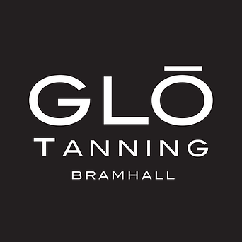 Glo Tanning Bramhall Logo - White.png