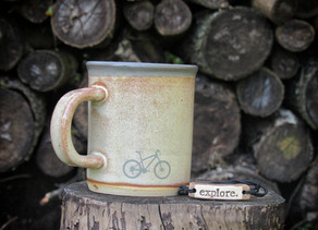 Mud Love mug and bracelet