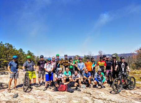 Spring Mountain Bike Trip