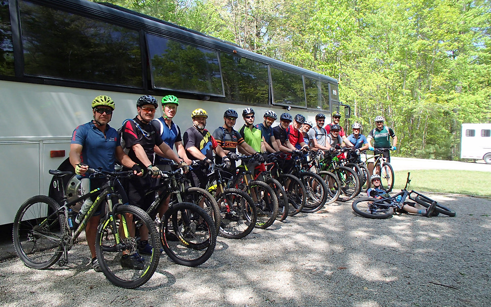 Spring MTB Trip 2017