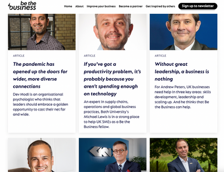 Be The Business 'Fellows' round up 2021