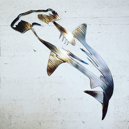 Hammerhead Shark Heat Treated