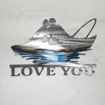 Angler Love Heat Treated