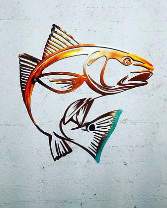 Red Fish-Aluminum