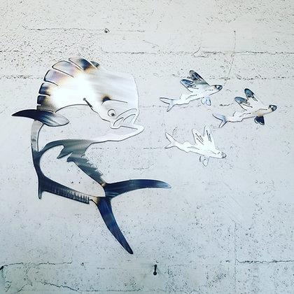 Mahi combo with 3 Flying Fish