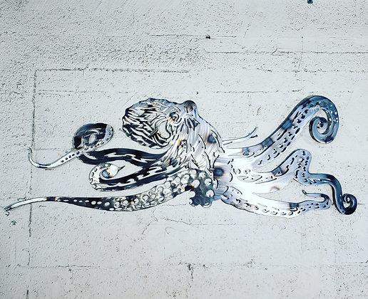 Octopus 47in across made off steel