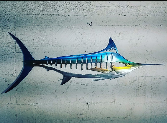 Aluminum marlin 47inches across