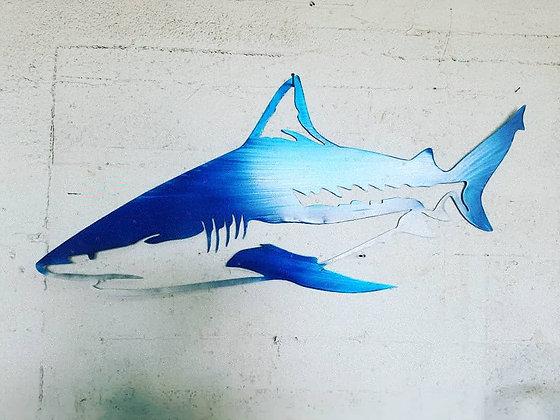 Bull shark made of aluminum 47inches