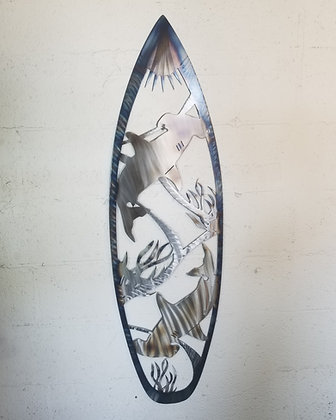 Hammer head surfboard