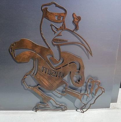 UM Mascot Copper