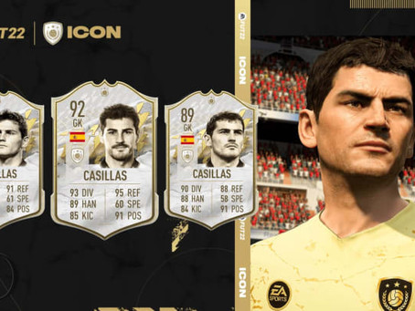 FIFA 22: All the new FIFA 22 FUT Icons revealed till now