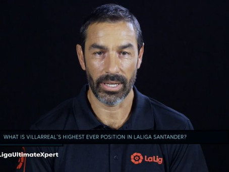 LA LIGA Santander Experience - Robert Pires tests the audience knowledge on Villarreal