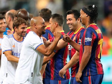 2-3: Real Madrid claim spoils in legends' El Clásico in Tel Aviv