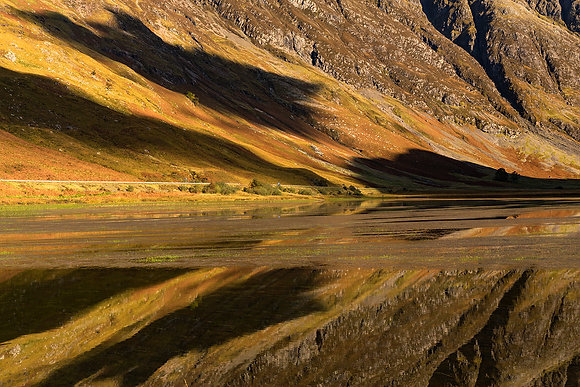 Glencoe Autumn Reflection