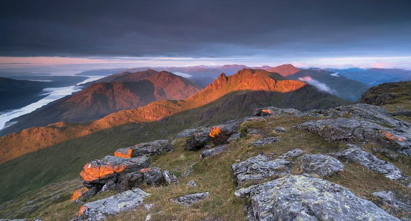 The Cobbler - Autumn Sunrise