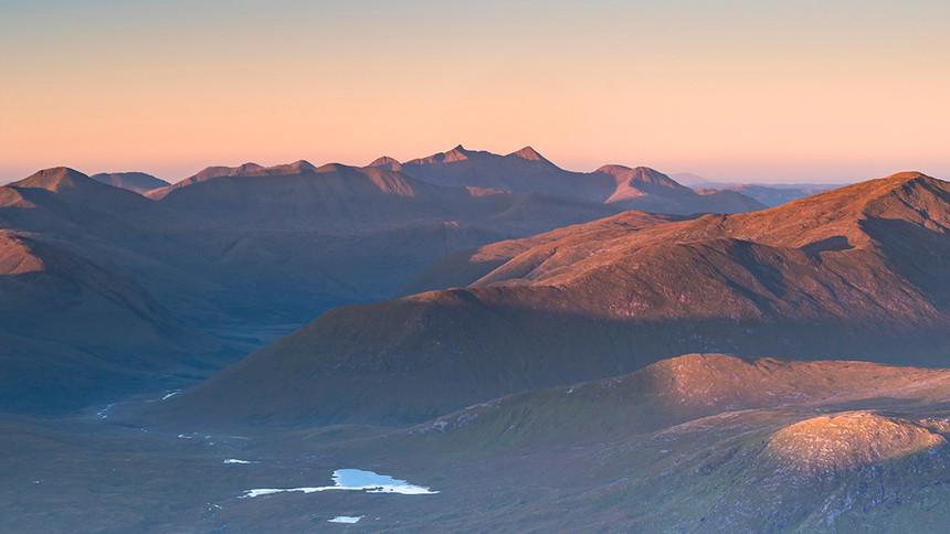 Cruachan sunrise 2