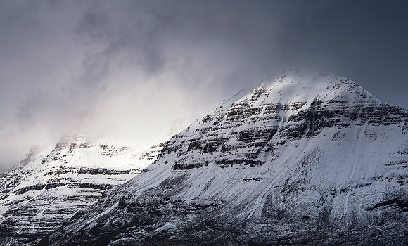 Winter Storm over Liathach