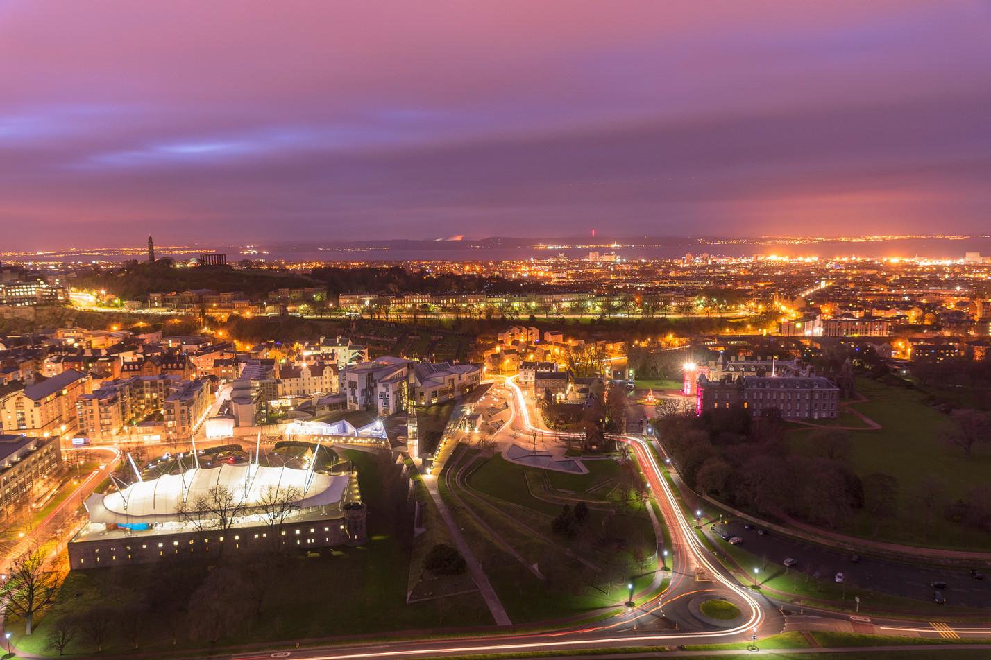 Edinburgh skyline 2 (3/5)