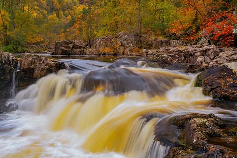Autumn colour Perthshire