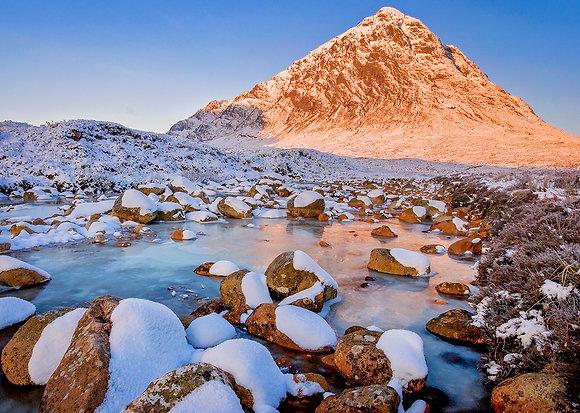 Winter Sunrise - Buchailletive Mhor