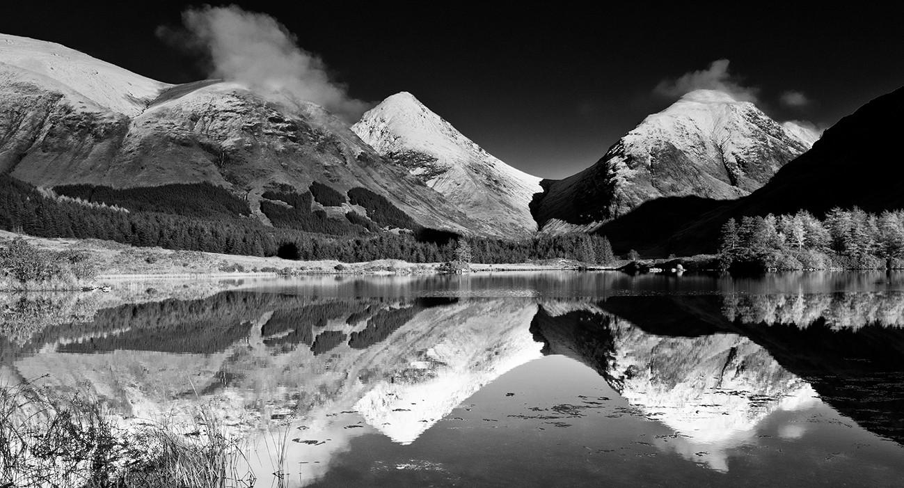 Reflected - Glen Etive autumn