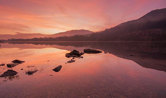 Winter Sunrise over Loch Voil