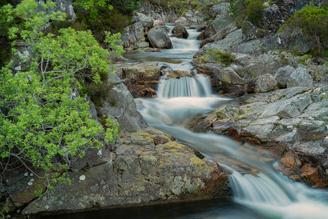 Summer falls in the Cairngorms