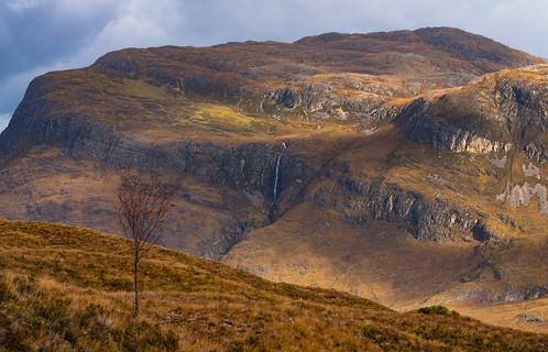 Autumn from Beinn Eighe reserve