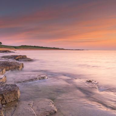 Sunrise north Fife coast
