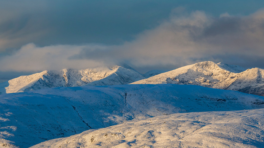 Western highlands winter summits