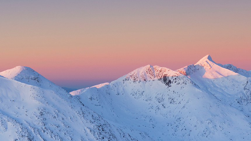 Winter over the Cruachan