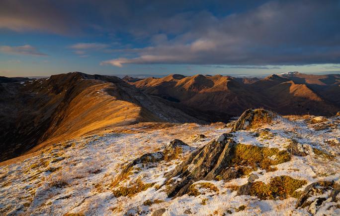 The South Glen Shiel ridge