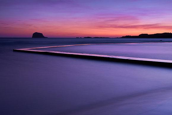 Winter Sunrise over the East Coast