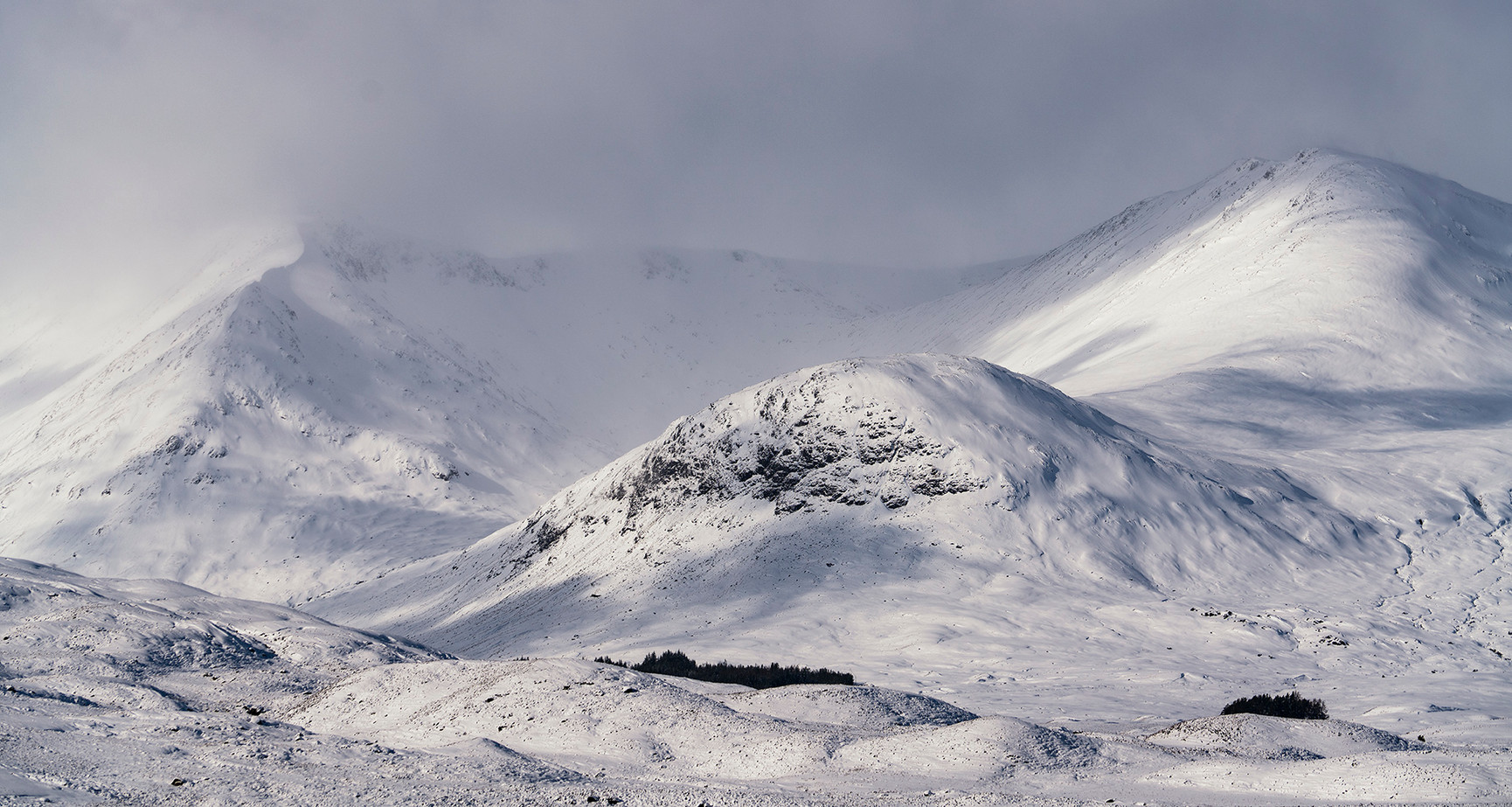 Winter over the Blackmount