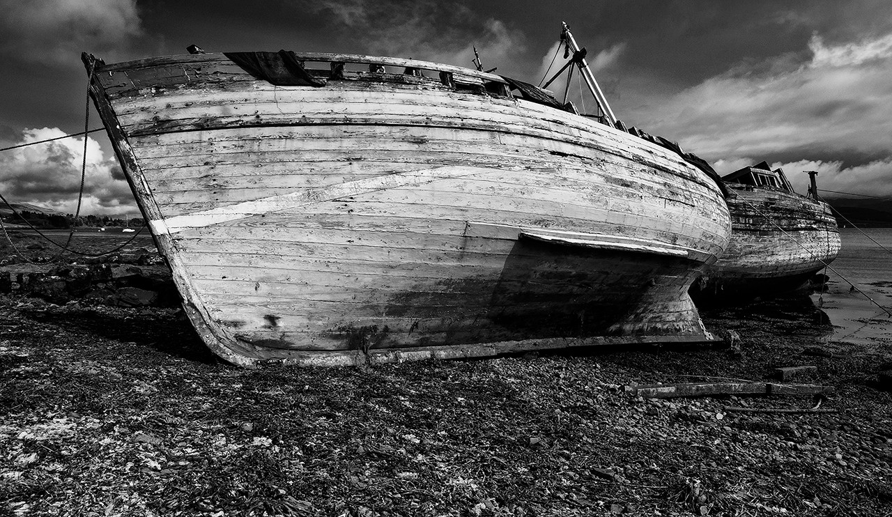 Salen boats Mull